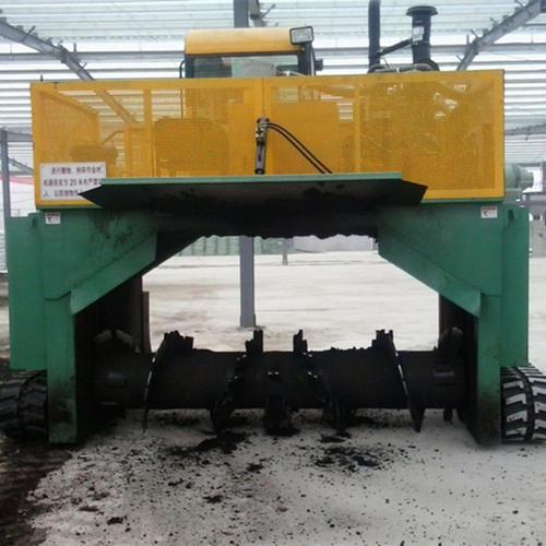 猪粪环保加工处理设备 槽式翻堆机 槽式翻抛机 有机肥翻堆机