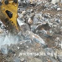 大型劈裂机挖机改装一体机