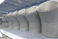 供应生产PE-RTII电熔管件45度弯头   聚乙烯管件