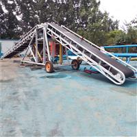升降皮帶輸送機采購 礦山用皮帶輸送機 圣能機械100方車站碼