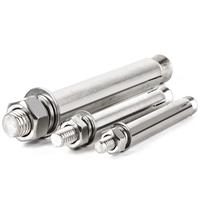 304加长不锈钢膨胀螺栓    江苏不锈钢制品加工厂家