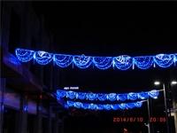 街区亮化灯,过街灯,大型灯光雕,灯杆造型灯,夜市街道亮化