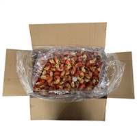 鲜活小龙虾剥离-液氮速冻冰冻大号大特虾尾整箱9斤净重5斤批发