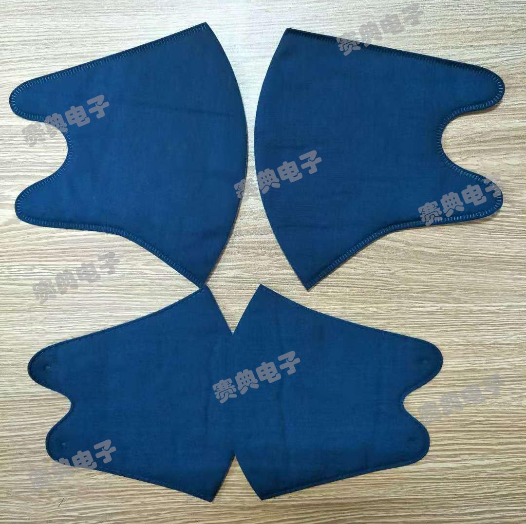 布料明星口罩裁片机,超声波一次压片成型机 赛典实地厂家
