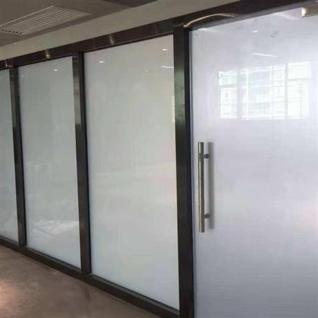 河东调光玻璃隔断 调光雾化玻璃隔断 雾化玻璃定制价格