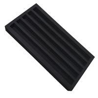 礼盒植绒EVA内衬 高密度包装盒内衬泡棉植绒 双色EVA泡棉成型厂家
