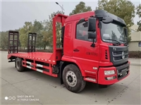拉65挖机拖车 解放平板运输车厂家价格 二手拖车价格