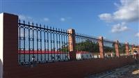 南宁铁艺围栏厂 别墅庭院围栏 平方米计算 厂家加工安装
