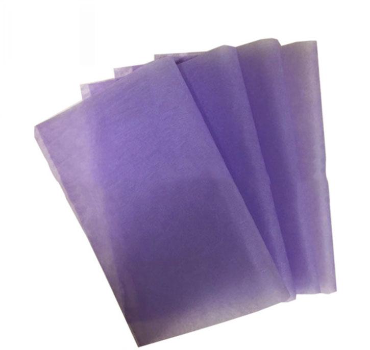可定制公司LOGO的紫色拷贝纸