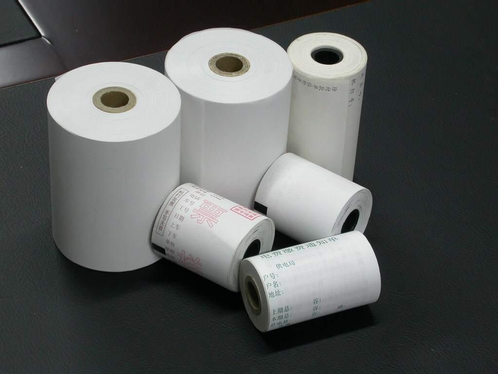 全赢热敏传真纸210*30同时贴牌加工各规格传真纸