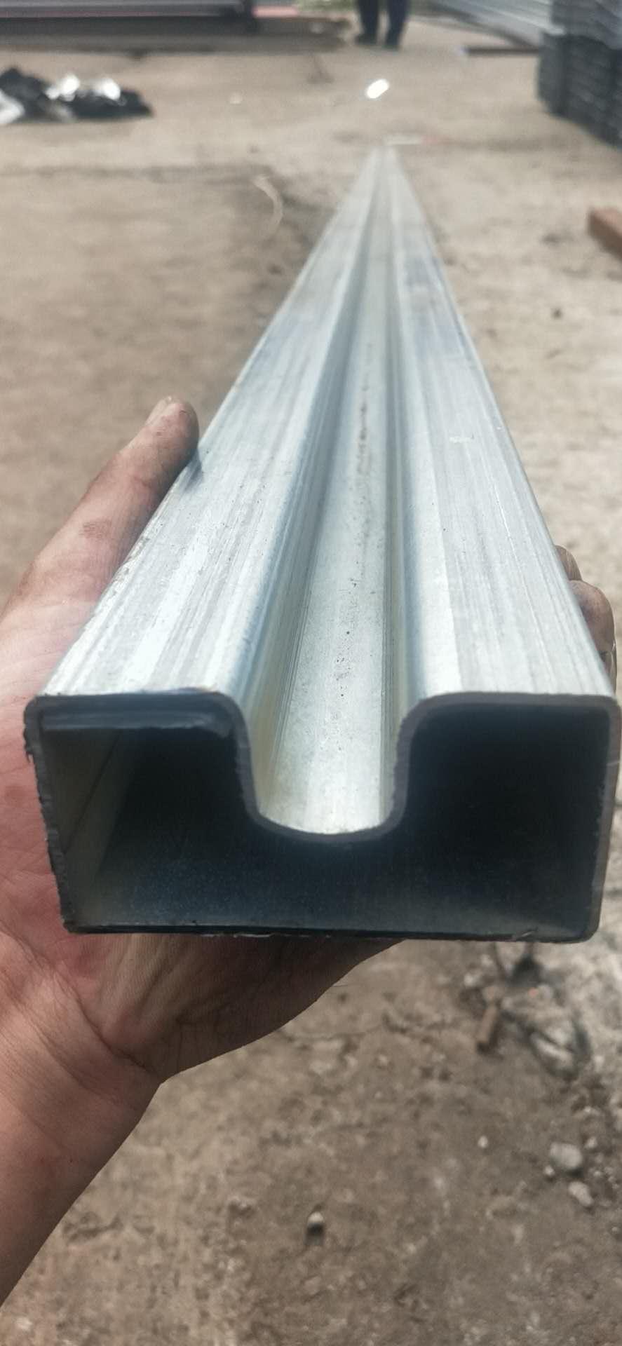 椭圆形凹槽管-凹槽管生产厂-凹形管