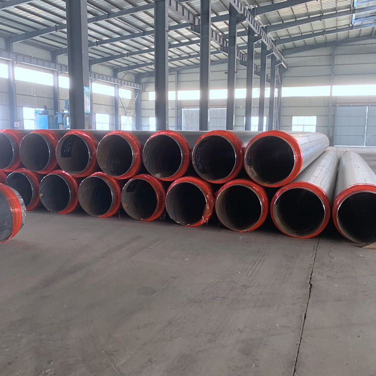 保温钢管 保温螺旋钢管 地埋保温钢管 预制直埋保温钢管