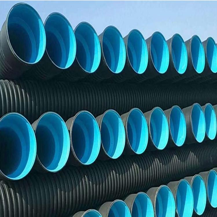 濮阳排污钢带波纹管 排污双壁波纹 管塑料波纹管厂