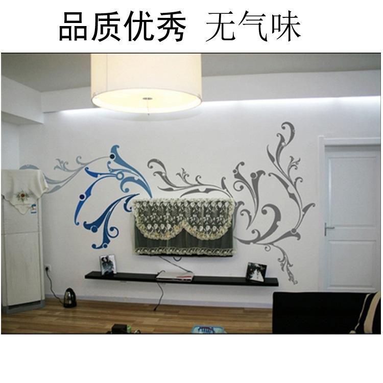 南京电视背景墙墙绘1 高端客厅墙体彩绘KT1 诚信厂家