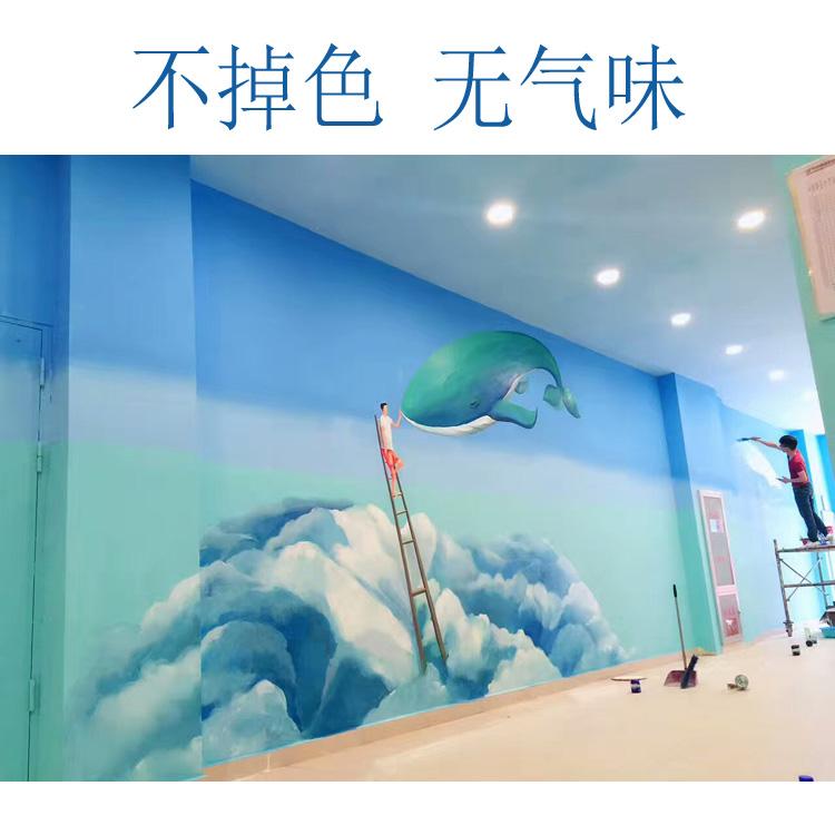 常州墙绘3 商场店铺墙体彩绘 墙绘公司质量保证