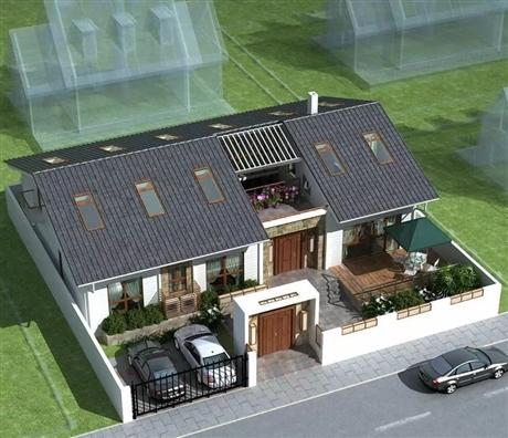新型预制轻钢房屋的保温
