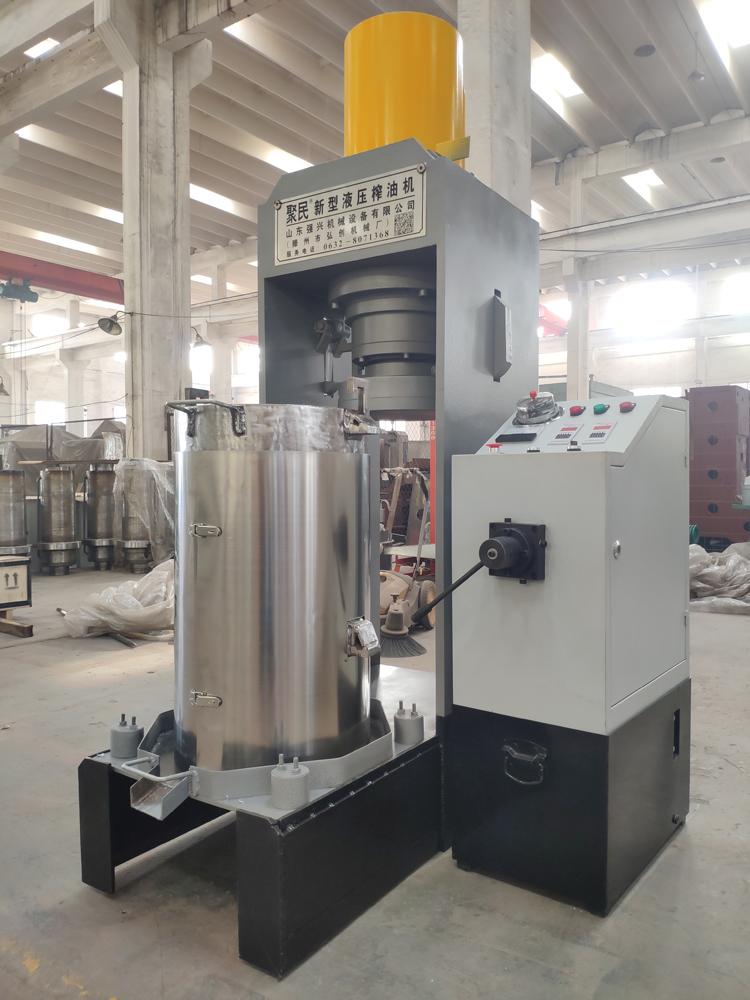 山东聚民硅藻土大型压榨机  废白土全自动加工设备