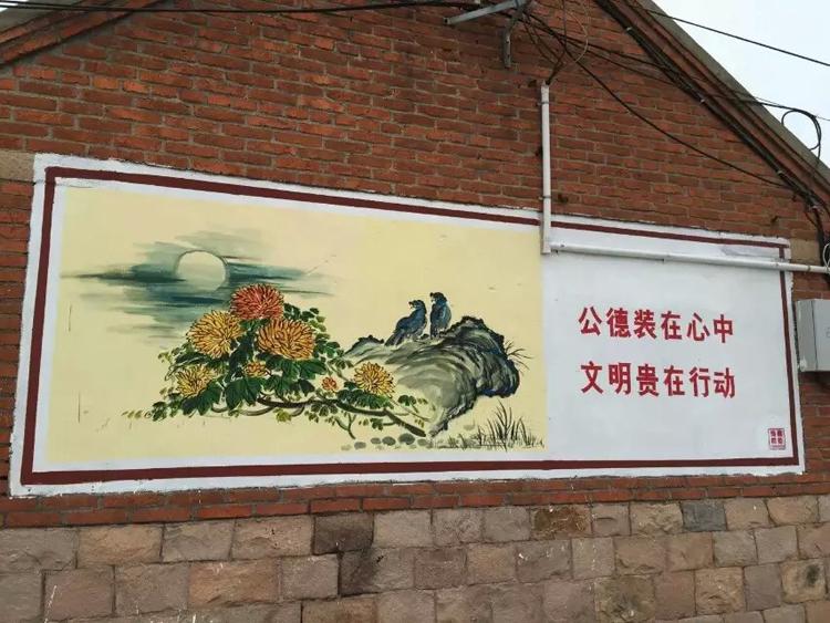 南京文化墙 文化墙写字画画 农村文化墙定制满意后付款