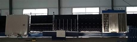全自动中空玻璃机器2000立式中空玻璃生产线外合片