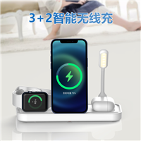 iPhone11pro手机xsmax苹果pwatch手表风扇充电器适用五合一无线充