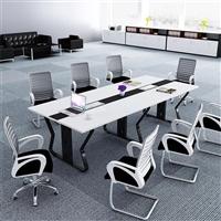 青岛会议椅生产厂家 万千家具 人体工学网布椅 现代简约靠背椅子