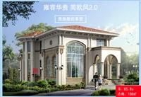 轻钢别墅住宅 新农村建设房屋改造 设计安装自有工厂