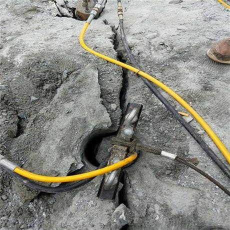 涵洞掘进破裂硬岩石机器 隧道掘进代替爆破开石机器