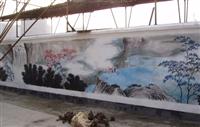墙画 户外工程墙画 壁画 墙绘 手绘墙公司 手绘文化墙 全国施工