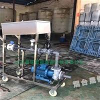 槽车卸料分装大桶卸料灌装设备
