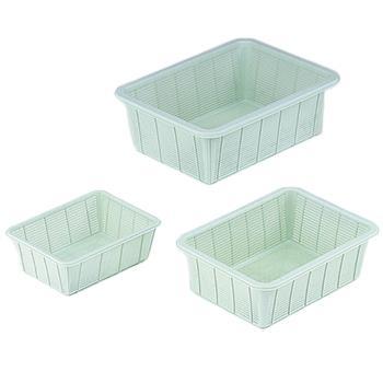 亚速旺 进口塑料方筐(深型),大,358×480×165  7-5650-03