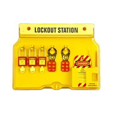 安赛瑞 一体式高级锁具工作站(空板),406×315×65mm,5个挂点,37050  37050
