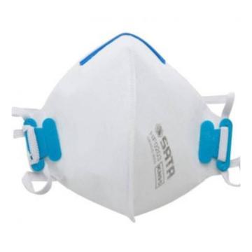 世达SATA 蚌型折叠式防尘口罩,HF0203,头带式,KN95,20个/盒 蚌型折叠式防尘口罩 HF0203