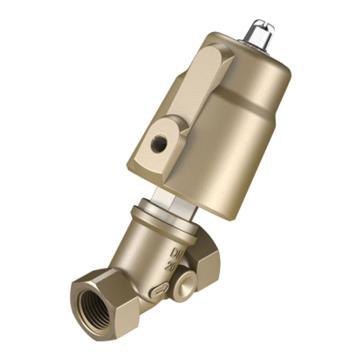 费斯托/FESTO两位两通角座阀,常闭,机械复位,VZXF-L-M22C-M-B-G1-230-H3B1-50-10,1002505  VZXF-L-M22C-M-B-G1-230-H3B1-50-10,1002505