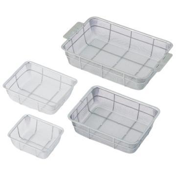 亚速旺(ASONE)方形加深不锈钢消毒筐 6枚(1个),7-4002-04  7-4002-04