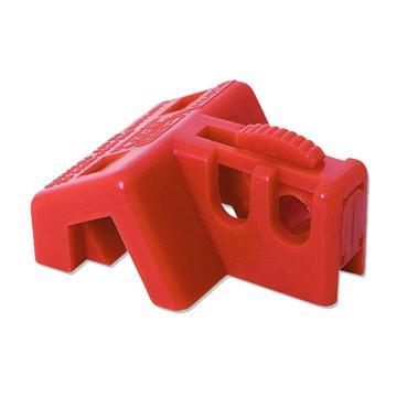 安赛瑞 特定规格电气开关锁具,工程塑料材质,红色,37061  37061