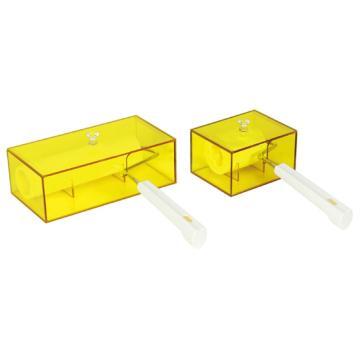 亚速旺(ASONE)防静电有机玻璃盒(无尘棉签用) CR-112,C3-8854-01  C3-8854-01