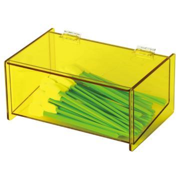 亚速旺(ASONE)防静电有机玻璃盒(无尘棉签用) CC-302-2,C3-8852-01  C3-8852-01