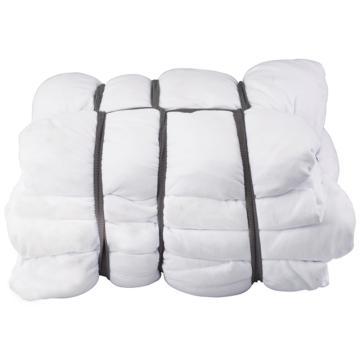 亚速旺实验室用经济型纯棉工业抹布,(白色) 薄柔型 10kg/包  CC-3042-02