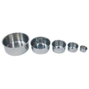 亚速旺(ASONE)实验室用经济型不锈钢碗 TB-05(1个),CC-4626-05  CC-4626-05