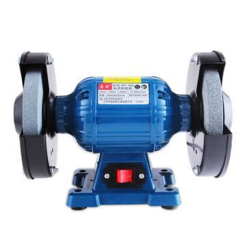 东成台式砂轮机,砂轮盘径150mm,250W,2840r/min,S1E-FF-150  S1E-FF-150