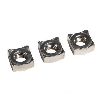 东明 DIN928四方焊接螺母,M8-1.25,不锈钢304,强度A2-70,50个/包  DIN928四方焊接螺母,M8-1.25,强度A2-70