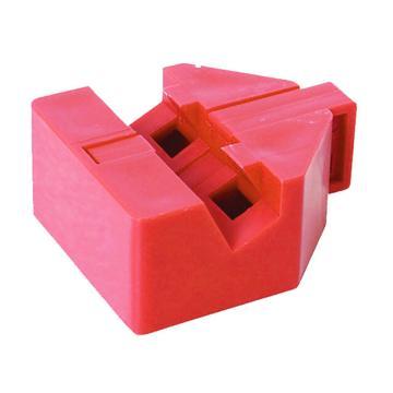 安赛瑞 特定规格电气开关锁具,工程塑料材质,红色,37059  37059