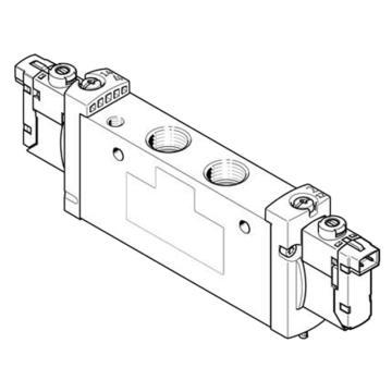 费斯托FESTO 两位三通电磁阀,管式阀,常闭,VUVG-L18-T32C-AT-G14-1H2L-W1,578822  VUVG-L18-T32C-AT-G14-1H2L-W1,578822