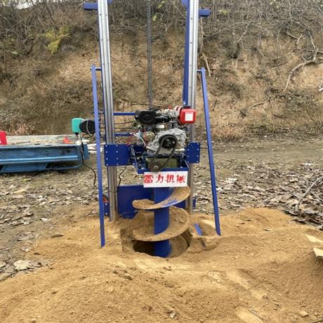 加强型打桩钻孔机自动螺旋打洞地钻