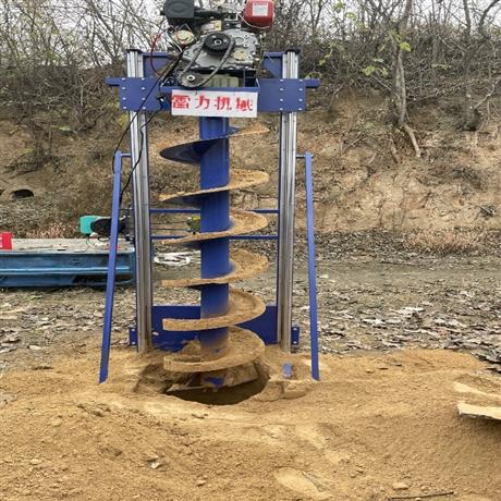 管桩芯掏泥机螺旋钻出土快速清孔