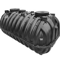 周口化粪池厂家 三格化粪池构造原理 塑料化粪池安装