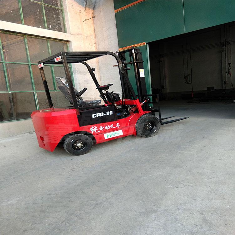 四輪座駕式電動叉車環保液壓 堆高搬運升降1噸1.5噸2噸3噸裝卸車