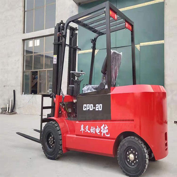電動叉車1噸2噸小型液壓搬運車豪盛機械