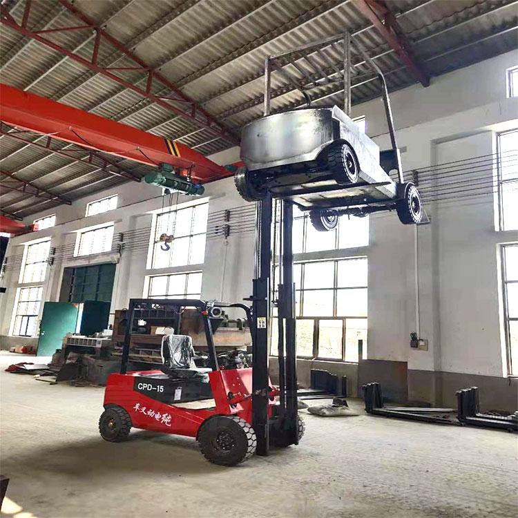 純電動叉車小型1.噸1.5噸2噸四輪 電瓶車包郵超市倉