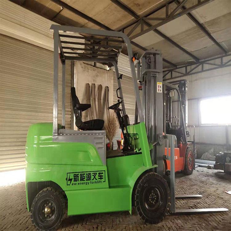 純電動叉車小型1.噸1.5噸2噸四輪 座駕式裝卸堆高 電瓶車包郵超市倉
